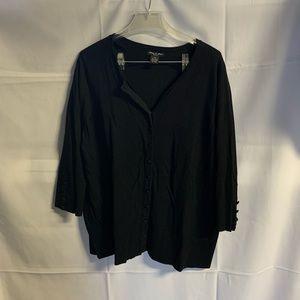 Audrey & Grace Women's  Cardigan Sweater Sz 2X